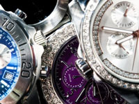 great choice of watch and jewelry brands important and famous