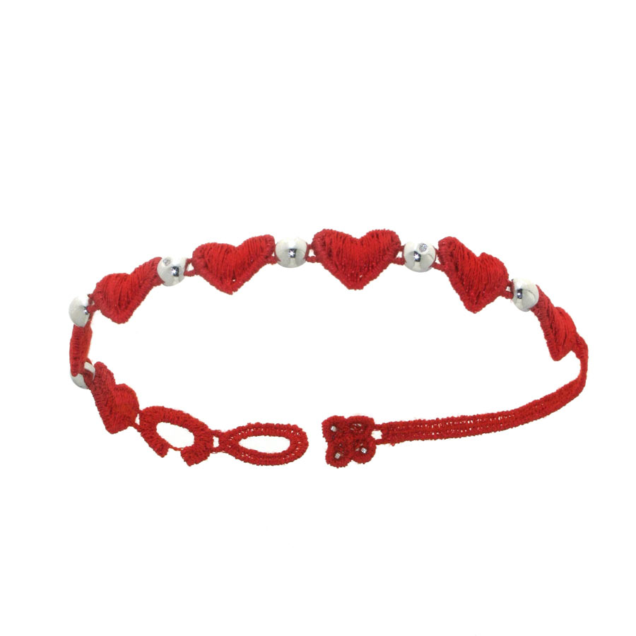 signature braided red product bracelet single jewelry bk balls alanka