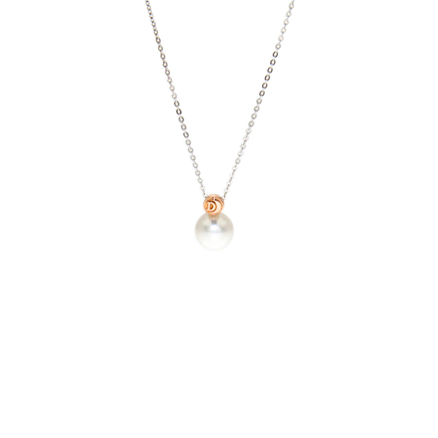of gold kt and woman mm pink pendant necklace jewelry cultivated sea en pearls damiani pearl white