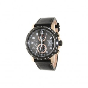 watch-man-citizen-chrono-h800-sport-black-radio-controlled-steel-pink-pvd-leather-19