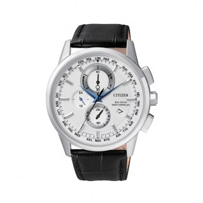watch-man-citizen-radiocontrolled-chrono-steel-leather-dial-silver-at8110-11a