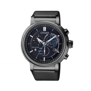 watch-man-citizen-smartwatch-bluetooth-ecodrive-steel-or-black-pvd-steel-leather-rubber-black-dial-wr-10bar