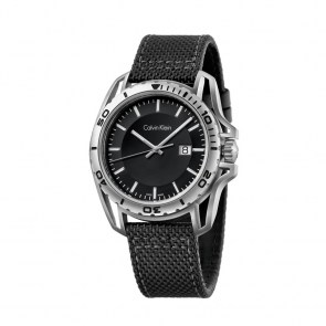 watch-man-ck-swiss-earth-collection-steel-case-black-strap-dial-black-blue-silver