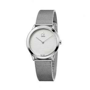 watch-unisex-man-woman-ck-swiss-minimal-collection-steel-case-mm35-canvas-steel-strap-dial-silver-grey