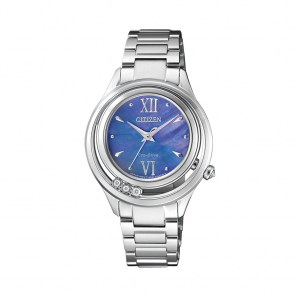 watch-citizen-women-lady-diamond-steel-sapphire-ecodrive-nacre-em0321-em0325-ex1120-ex1122