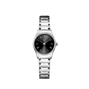 watch-woman-ck-swiss-classic-mm24-steel-case-strap-or-leather-strap-dial-black-silver-numbers-index