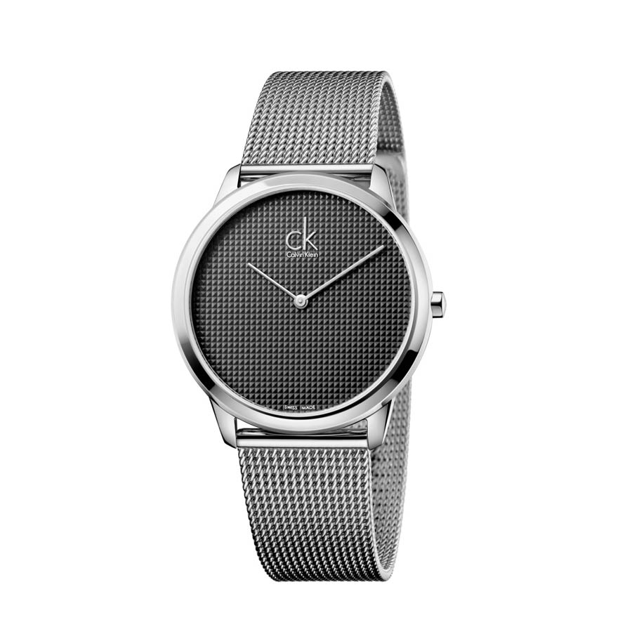 Watch Man Unisex Ck Minimal Case Mm 40 Steel