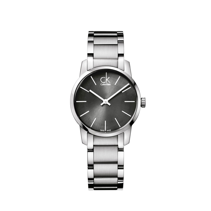 516d8f4b7 Watch woman, CK City collection, only time, steel.